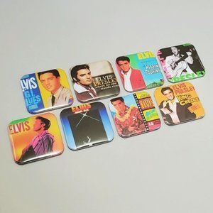 Elvis Presley King Country Magnets Music Records